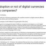 Academic survey on digital currencies