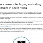 Hey guys, it would help me immensely with my masters thesis if you could fill out this 5 minute survey on your reasons for purchasing Bitcoin in South Africa.