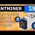 Antminer S9 How to mine DBG Digibyte mining dgb coin cryptocurrency with bitmain s9